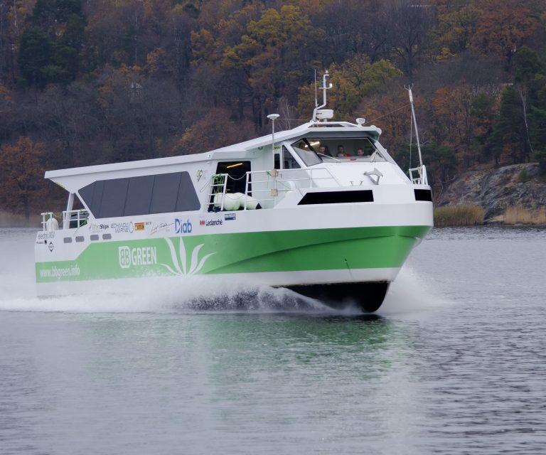 Il traghetto elettrico urbano BB GREEN premiato come sistema a propulsione elettrica e ibrida dell'anno